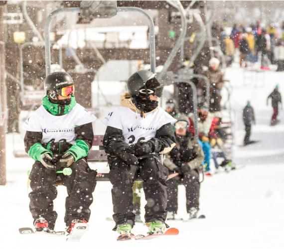 滑雪和滑雪板課程